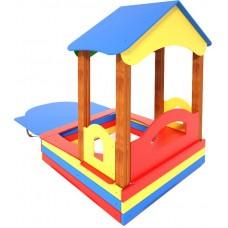 Дитячий будиночок з пісочницею ТЕ320