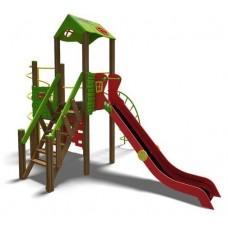 Ігровий комплекс зелено-червоний Башня- NEW T901 NEW