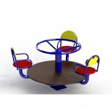 Дитяча карусель на 3 місця (DІO-308.1)