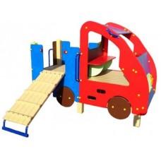 Дитячий ігровий комплекс з гіркою Авто (DIO401)