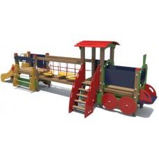 Дитячий ігровий комплекс Паровозик з вагоном (DIO405)