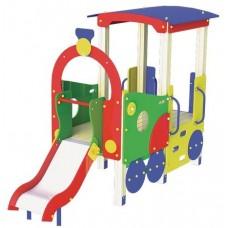 Дитячий ігровий комплекс Паровозик з гіркою T502