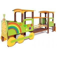 Дитячий ігровий комплекс Паровозик з вагоном Літо T503М