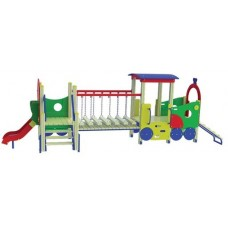 Дитячий ігровий комплекс Паровозик з вагоном TE503