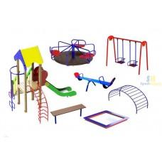 Дитячий ігровий майданчик №1 (DP-01)