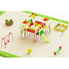 Дитячий ігровий майданчик №17 (DP-17)