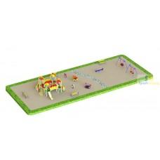Дитячий ігровий майданчик №18 (DP-18)