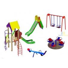 Дитячий ігровий майданчик №21 (DP-21)