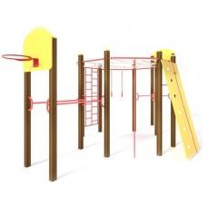 Гімнастичний комплекс Атлет- 2 S723