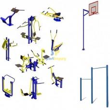Спортивний майданчик Універсал-14