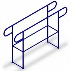 Вуличні бруси шкільні закруглені кінці (DIO625)