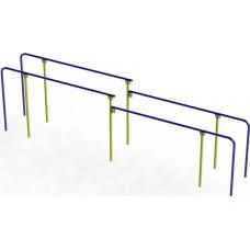 Вуличні бруси паралельні дворівневі DІO636